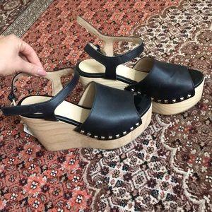 Zara Platform Heels size 37